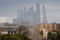 Moscow International Business Center Russia