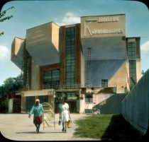 Moscow modernism Rare color photographs of Soviet avant-garde buildings taken in
