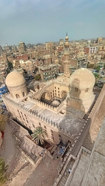 Mosque of Amir al-Sayf Sarghatmish  Cairo EGYPT