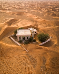 Mosque slowly swallowed by dunes in the UAE James Kerwin