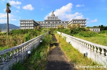 Most beautiful abandoned hotel in Japan