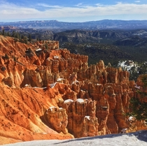 Most of the trails were closed at Bryce Canyon National Park but from what we got to check out it was awesome OC x