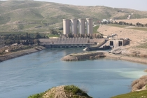 Mosul Dam North of Mosul Iraq