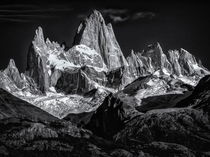 Mother Earths Sculptures Monte Fitz Roy Argentina