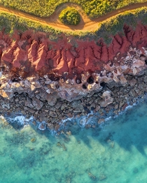 Mother Natures color palette is incredible Broome Western Australia