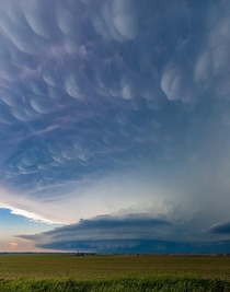 Mothership supercell near Broken Bow Nebraska