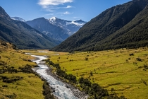 Mount Aspiring National Park has it all ranging from mountains glaciers and rivers A true beauty