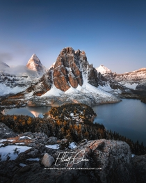 Mount Assiniboine in BC Canada