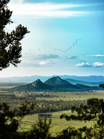 Mount Baga according to legend was formed by the rainbow serpent Yeppoon Queensland Australia