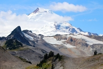 Mount Baker from North Cascades National Park Washington USA