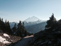 Mount Baker National Forest on a perfectly sunny day