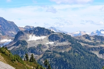 Mount Baker-Snoqualmie National Forest Washington USA