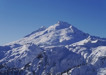 Mount Baker Washington in winter