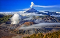 Mount Bromo East Java Indonesia  by Dhiky Aditya