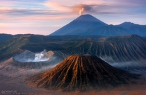 Mount Bromo Indonesia  by Goal Kw-graphicstyle  xpost rSomeoneTookAPicture