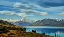 Mount Cook and Lake Pukaki in New Zealand Photo by Trey Ratcliff