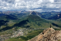 Mount Crested Butte ski resort Colorado