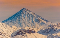 Mount Damavand The highest peak in the Middle East Iran  by Volodymyr Iskra
