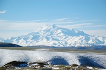 Mount Elbrus the tallest mountain in Europe