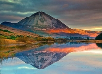 Mount Errigal Gweedore County Donegal  Ireland x