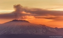 Mount Etna waking up Sicily Italy  Photo by Hans Kruse
