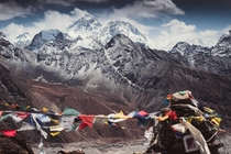 Mount Everest from Gokyo Ri vantage point X