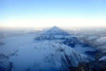 Mount Everest Summit Shadow - The Highest Point ASL in the World
