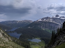 Mount Fosthall taken from Slate Mountain Monashee Provincial Park British Columbia