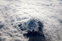 Mount Fuji from the Clouds