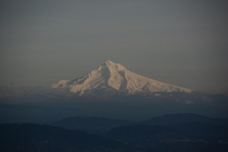 Mount Hood Oregon Pittock Mansion viewpoint January     x