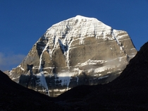Mount Kailash Tibet mft Considered sacred by several religions its never been summited by humans