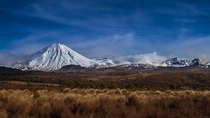 Mount Ngauruhoe is an active Stratovolcano It erupted  times in the last  years Central North Island New Zealand