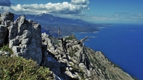 Mount Olympos by the Mediterranean Coast Turkey