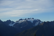 Mount Olympus from the High Divide Olympic National Park WA USA