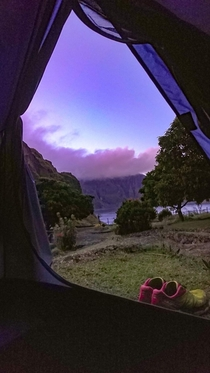 Mount Pinatubo - Room with a view
