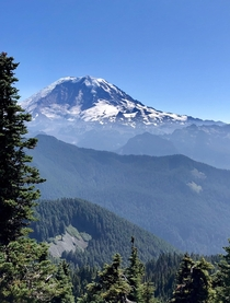 Mount Rainier from one of my favorite hikes in WA