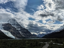 Mount Robson from Robsons Pass