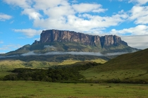Mount Roraima on the border between BrazilVenezuelaGuyana
