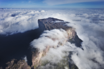 Mount Roraima tallest of the South American tepui plateaus
