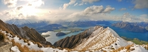 Mount Roy Panorama Lake Wanaka New Zealand