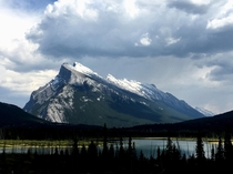 Mount Rundle Banff National Park CA