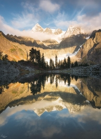 Mount Shuksan of the North Cascades Washington in all its glory