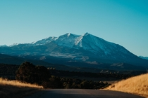 Mount Sopris as seen from Carbondale Colorado