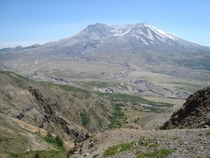 Mount St Helens Washington July