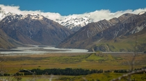 Mount Sunday New Zealand Location of Edoras Lord of the Rings