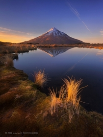 Mount Taranaki New Zealand  by Dylan Toh amp Marianne Lim x-post rNZPhotos
