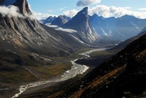 Mount Thor Baffin Island Canada  m high