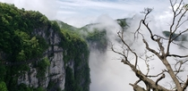 Mount Tianmen in Zhangjiajie China