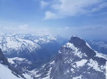 Mount Titlis Uri Alps Switzerland Taken right after it had drizzled on a beautiful summer afternoon One of my absolute favourites