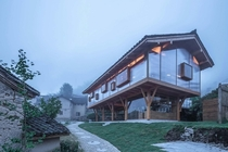 Mountain House in Mist  Shulin Architectural Design